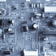 Electronic curcuit board - Stock Photo