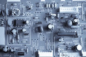 Electronic curcuit board — Stock Photo