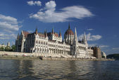 Budapest - parliament — Stock Photo