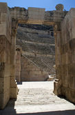 Roman amphitheater amman — Stock Photo