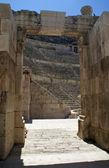 Roman amphitheater amman — Stock Photo