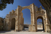 Hadrian's Arch of Triumph — Stock Photo