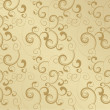 Gold vector blank ornate image - Stock Photo