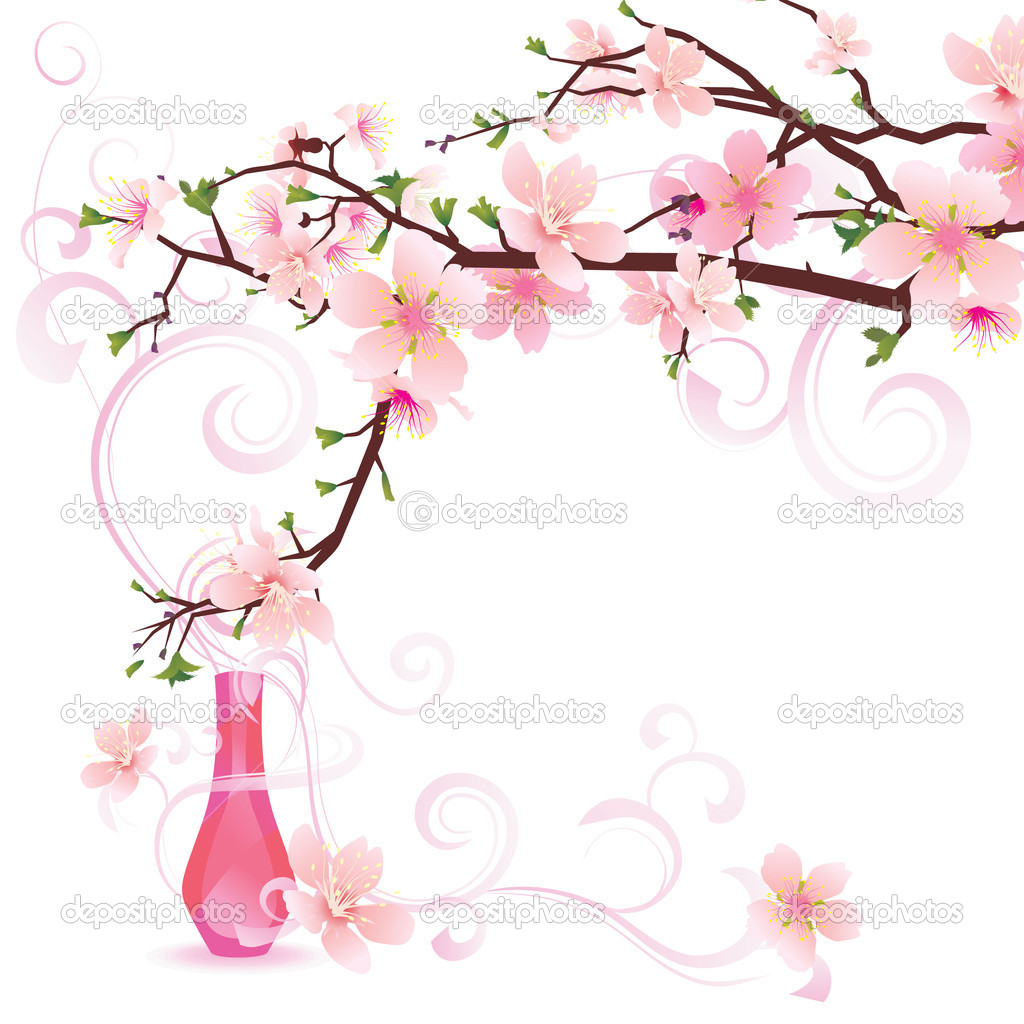 Sakura parfume — Stock Photo #2127118