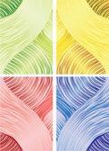 Telón de fondo de abstrakt rayas — Foto de Stock