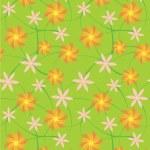 Seamless flowers background — Stock Photo