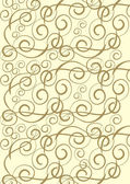 Gold ornament background — 图库照片