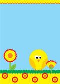 желтый курица — Стоковое фото