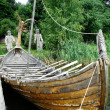 Viking boat — Stock Photo