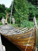 Viking boat — Stock Photo
