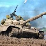 Russian tank — Stock Photo #2008749