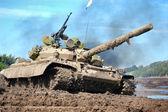 Russian tank — Stock Photo