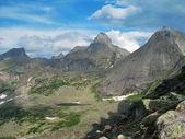 Mountain Sayany — Stock Photo