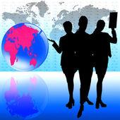 Women in business — Stock Vector