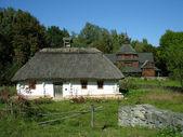 Traditional Ukrainian house — Stock Photo