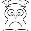 Royalty-Free Stock Vector Image: Owl