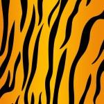 Постер, плакат: Tiger skin