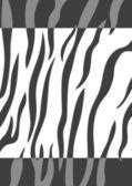 Tiger skin background — Stock Vector