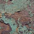 Texture of old paint on rusty metal — Stock Photo #2222917
