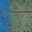 Texture of old paint on rusty metal — Stock Photo #2222997