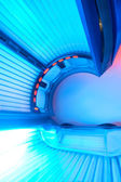 Solarium bed — Stock Photo