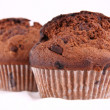 Stock Photo: Chocolate chip muffins