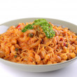 Stock Photo: Plate of italipasta