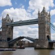 Stock Photo: Tower Bridge, Open