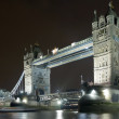 Stock Photo: Tower Bridge at Night, London