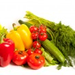 Bunch of fresh vegetables — Stock Photo #2007204
