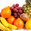 Pile of delicious tropical fruits — Stock Photo #2007238
