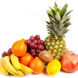 Pile of delicious tropical fruits — Stock Photo #2007246