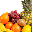 Pile of delicious tropical fruits — Stock Photo #2007268