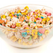 Colorful cereals — Stock Photo