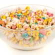 Colorful cereals - Stock Photo