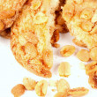 Biscuits with peanuts - ストック写真