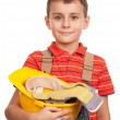 Stock Photo: Little construction worker