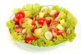 Frischem salat — Stockfoto