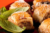 Baklava, traditional turkish dessert — Stock Photo