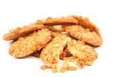 Biscuits with peanuts — Stock Photo