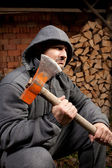 Lumberjack — Stock Photo