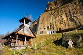 Corbii de piatra klasztor w Rumunii — Zdjęcie stockowe