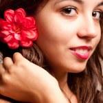 Beautiful young woman — Stock Photo