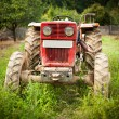 Red tractor — Stock Photo #2010833