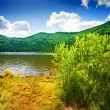Saint Ana volcanic lake in Romania — Stock Photo