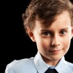 Schoolboy portrait — Stock Photo #2037016