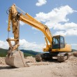 Excavator, digger, earthmover — Stock Photo #2209764