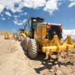 Excavator, digger, earthmover - Stock Photo