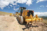 Excavator, digger, earthmover — Stock Photo