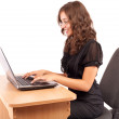 Attractive businesswoman at desk — Stock Photo #2210458